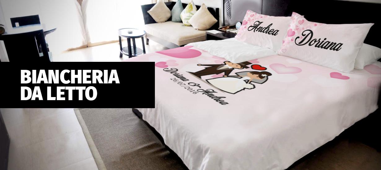 Biancheria da letto per gli sposi idee regalo per - Biancheria camera da letto ...