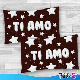 "Cuscino Goloso Stelle /""Ti Amo/"""