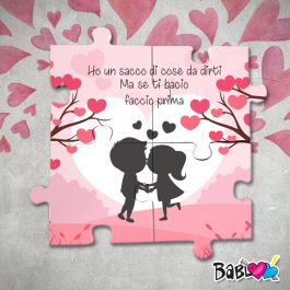 Puzzle In Legno Stampa Darredo Love Idea Regalo San Valentino Se