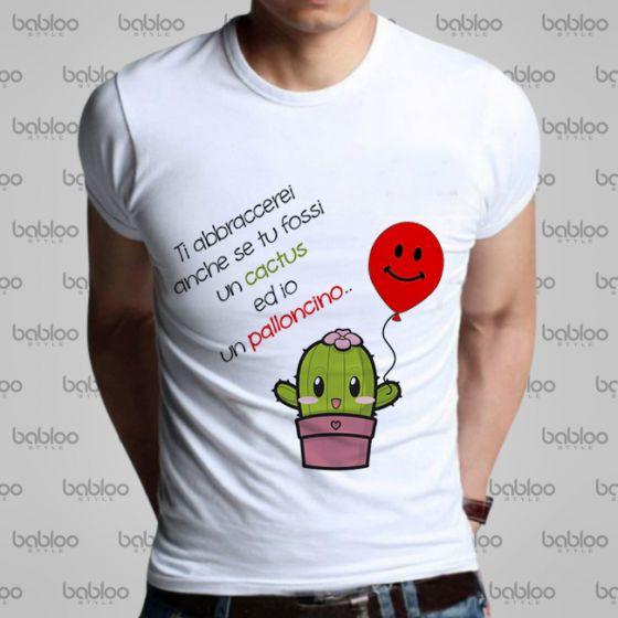 Shirt T Shirt Uomo T Cactus Maglia Shirt Maglia Uomo Maglia Cactus T XiTOZPku