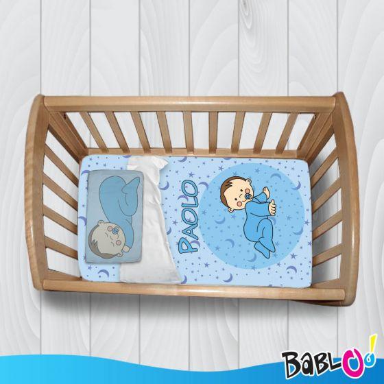 Copripiumino Lenzuolo Trapunta Baby Per Culla o Lettino