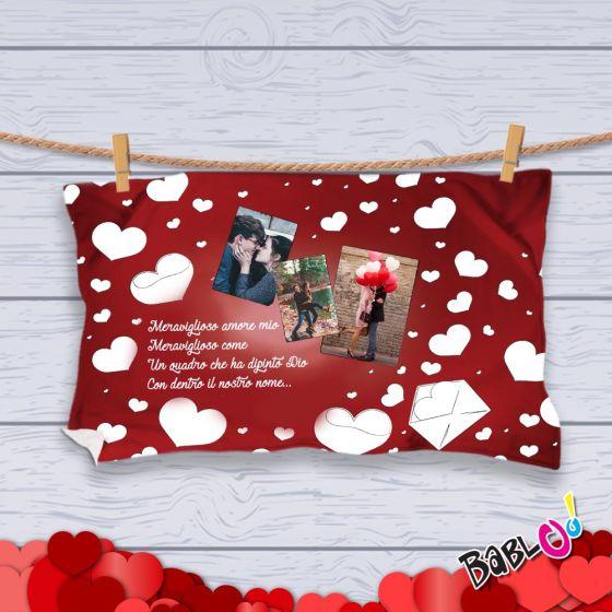 Coperta Pile Personalizzata Con Foto.Plaid Coperta In Pile Love Idea Regalo San Valentino Posta Personalizzato Con Foto Nomi O Frasi