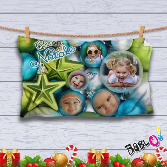 Coperta Pile Personalizzata Con Foto.Plaid Coperta In Pile Natalizia Idea Regalo Natale Personalizzato Con Foto Christmas Stars