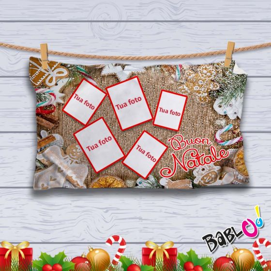 Coperta Personalizzata Con Foto.Plaid Coperta In Pile Natalizia Idea Regalo Natale Personalizzato Con Foto Zenzero