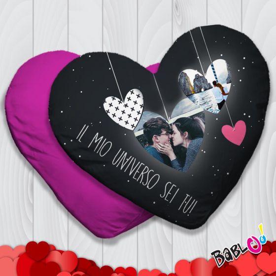 348978b31e Cuscino a cuore/quadrato Idea Regalo San Valentino