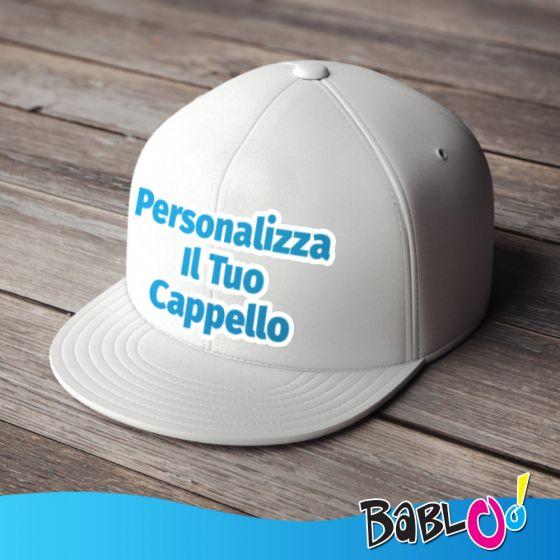 Personalizza il Tuo Cappello - Snapback Personalizzato - Cappelli -  Accessori Moda 04473864b7c3