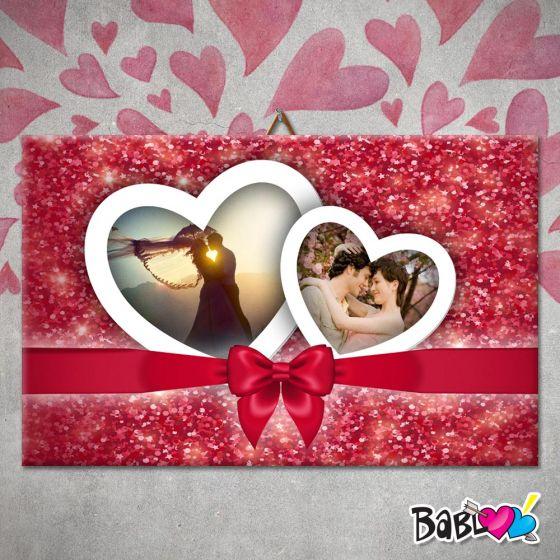 61c704c9d3 Quadro / Tela D'Arredo Love Idea Regalo San Valentino