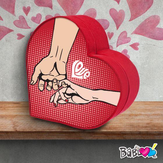 Scatola Regalo San Valentino.Scatola A Cuore Da Colazione Love Idea Regalo San Valentino Fingers