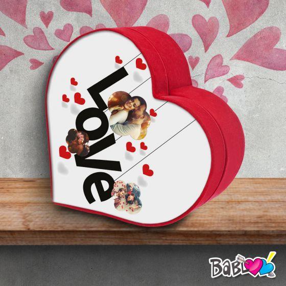 Scatola Regalo San Valentino.Scatola A Cuore Da Colazione Love Idea Regalo San Valentino Love