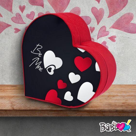 Scatola Regalo San Valentino.Scatola A Cuore Da Colazione Love Idea Regalo San Valentino Be Mine