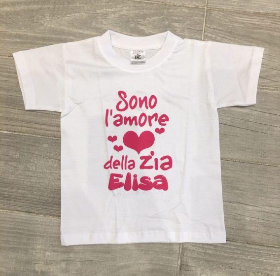 e16922f4a6 T-Shirt Maglietta Maglia Bambino Personalizzata Con Nome