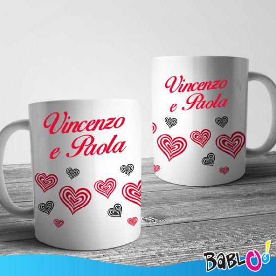 Idea Regalo Foto Tazza Love Personalizzabile San Valentino Natale Anniversario