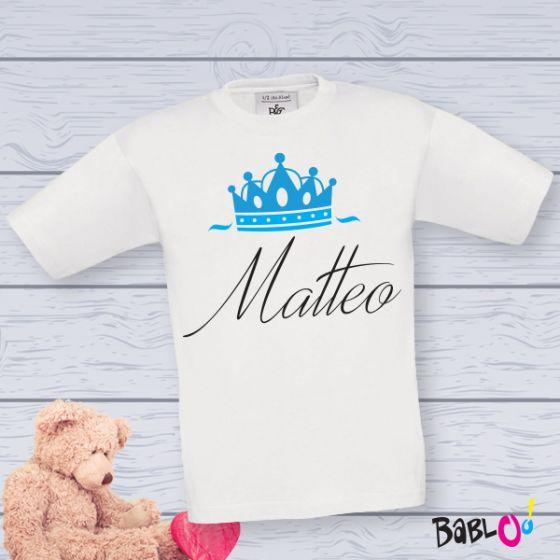 T-Shirt Maglietta Maglia Bambino Personalizzata Con Nome