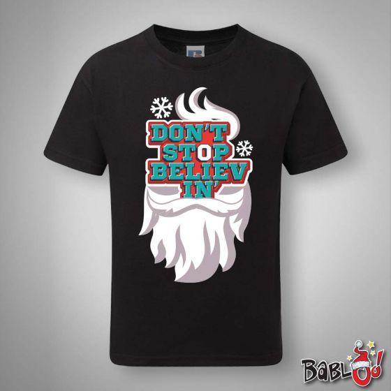 T Shirt Uomo Idea Regalo Di Natale Don T Stop