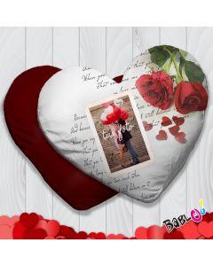 ca52d899d0 Cuscino a cuore/quadrato Idea Regalo San Valentino