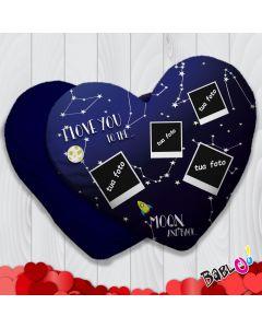 3c407d3dfc Cuscino a cuore/quadrato Idea Regalo San Valentino