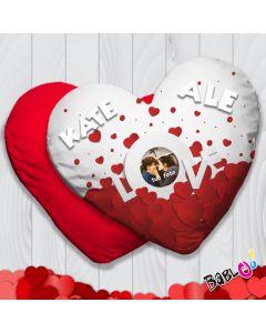 2fde9e7ca6 Cuscino a cuore/quadrato Love Idea Regalo San Valentino