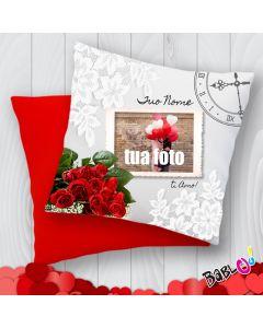 3068e03707 Cuscino a cuore/quadrato Idea Regalo San Valentino