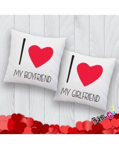 a2a1c3b1a4 Cuscino a Cuore Love Idea Regalo San Valentino