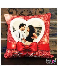 f4bb399b3f Cuscino Love Quadrato o a Cuore Idea Regalo San Valentino